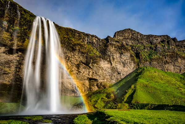 Beautiful Waterfalls in Iceland