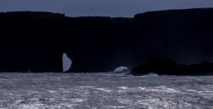 Black-beach-cliffs