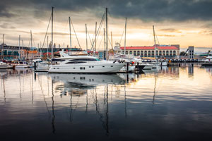Hobart's port