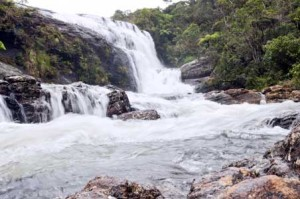 sri lanan waterfalls