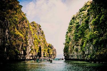 El-Nido-Palawan-rocky-ocean