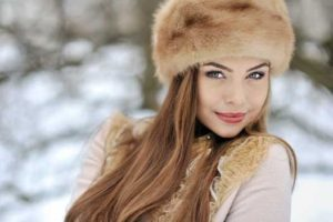 Russian lady girl