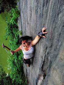 Sri lanka travel Rock Climbing