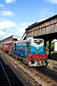Sri lankan travel train