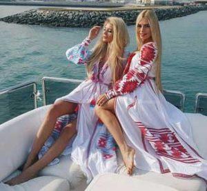 traditional Ukrainians girls