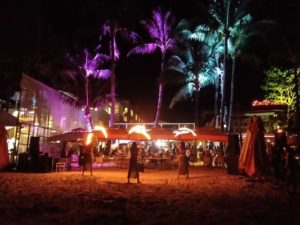 Boracay party on beach