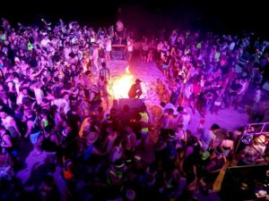 Moon Party on beaches