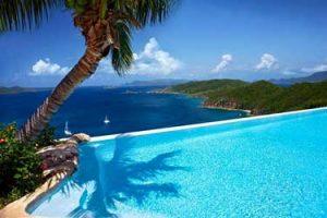 Bluest water - British Virgin Island