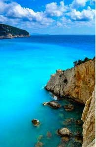 Bluest water - Ionian Island Greece