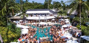 Nikki Beach party in Thailand