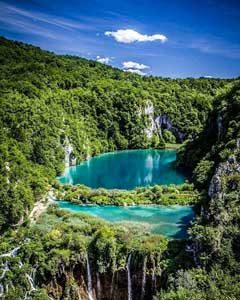 Blue water - Plitvice Lake Croatia