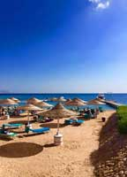 Sharm El Sheikh blue water