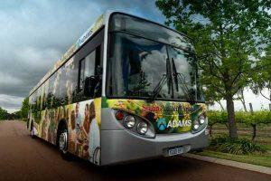 Adams bus tour