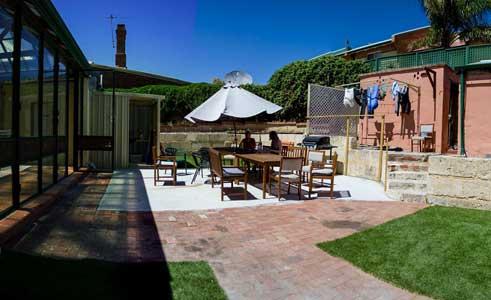 Wickham Retreat hostel in Perth