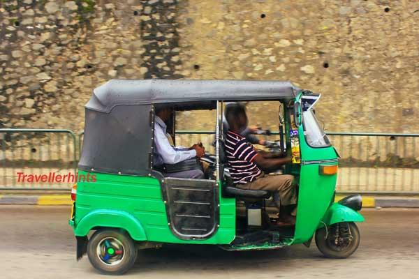 Sri Lanka-Transport-Driving