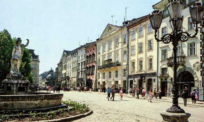 Market Square in Lviv