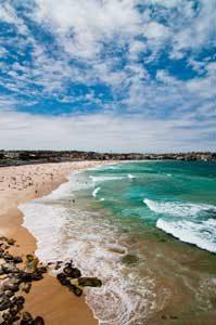 traveller hints @ bodai beach Australia