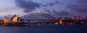 The Sydney Harbour Bridge