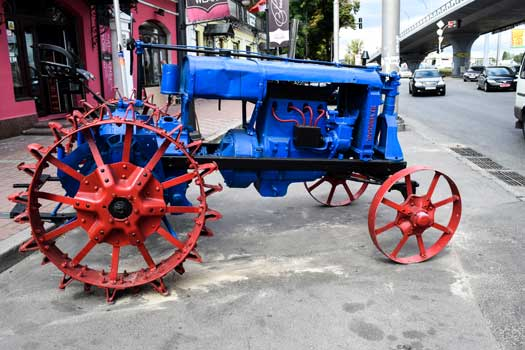 Ukraine Transportation-Driving