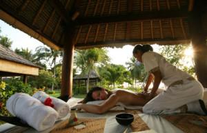 Ubud is located 35 km northeast of Bali's