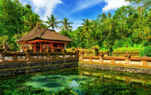 the best temple in Bali