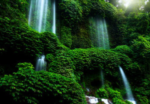 Rinjani spring-fed streams