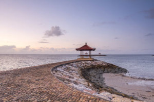 Sanur is a coastal stretch of beach of Denpasar