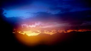 Sky-high-sun-set-Dandenong Ranges