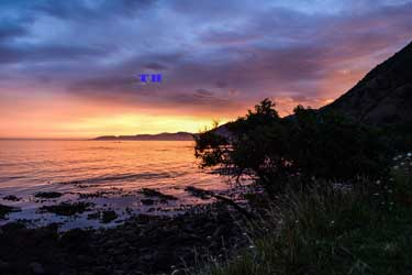 Kaikoura-sunset