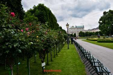 Austrian green garden