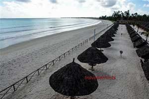 Dar es Salaam, south beach