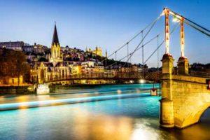 Lyon river