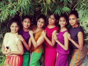 Sri Lankan culture girls