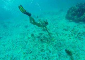 Bluest water - Ambergris Caye