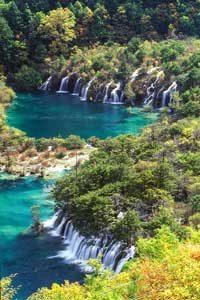 blue water - Five flower lake