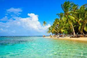 Paradise Tropical Island in Panama