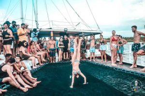 Gili Island Boat Party