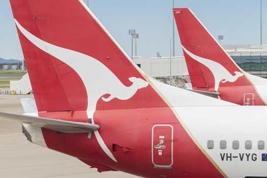 Qantas flyer