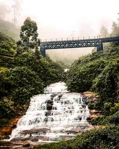 Waterfall, Nuwara Eliya
