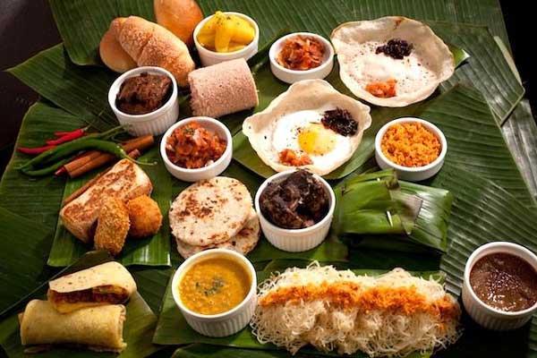 Sri Lankan Best  Food List
