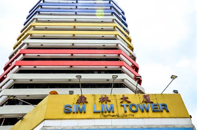 Sim Lim Square shopping