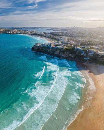 Fresh Water beach Sydney